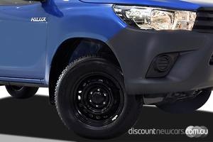 2019 Toyota Hilux Workmate Auto 4x4 Double Cab