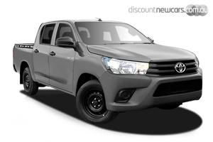 2018 Toyota Hilux Workmate Manual 4x2 Double Cab