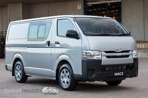 2018 Toyota Hiace LWB Manual