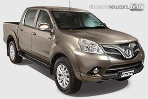 2018 Foton Tunland Luxury Manual 4x4 Dual Cab