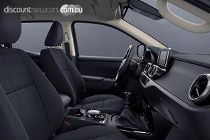 2018 Mercedes-Benz X-Class X250d Pure Manual 4MATIC Dual Cab