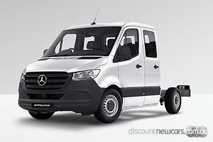 2019 Mercedes-Benz Sprinter 416CDI Medium Wheelbase Manual RWD Dual Cab