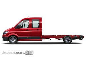 2020 Volkswagen Crafter 35 TDI410 SY1 LWB Auto 4MOTION MY20 Dual Cab