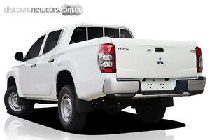 2019 Mitsubishi Triton GLX ADAS MR Manual 4x4 MY19 Double Cab