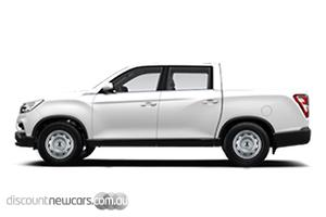 2019 SsangYong Musso EX Manual 4x4