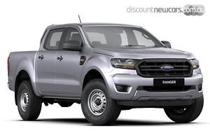 2019 Ford Ranger XL PX MkIII Manual 4x4 MY20.25 Double Cab
