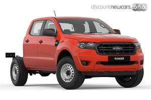 2021 Ford Ranger XL PX MkIII Manual 4x4 MY21.25 Double Cab