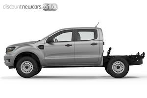 2020 Ford Ranger XL Hi-Rider PX MkIII Auto 4x2 MY20.75 Double Cab