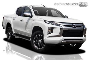 2021 Mitsubishi Triton GLX-R MR Manual 4x4 MY21 Double Cab
