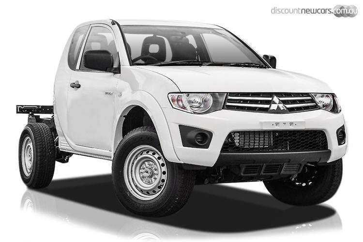 2015 Mitsubishi Triton MN GLX MY15