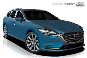 2020 Mazda 6 Atenza GL Series Auto