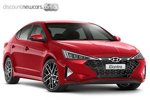 2019 Hyundai Elantra Sport Premium Manual MY19