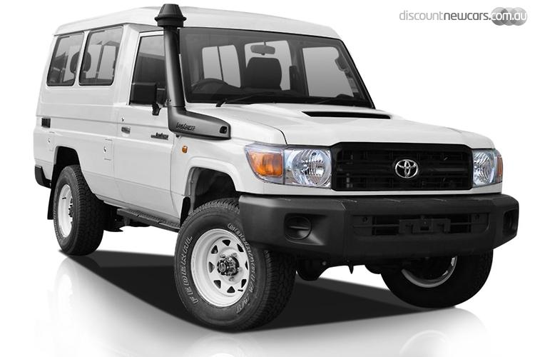 2014 Toyota Landcruiser Workmate Troopcarrier