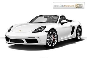 2018 Porsche 718 Boxster S 982 Manual MY18