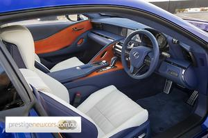 2018 Lexus LC LC500 Morphic Blue Auto