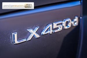 2018 Lexus LX450d Auto 4x4